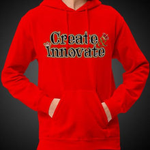 Load image into Gallery viewer, Max La Vida Men's Create Innovate Motivational Hoodies