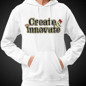 Max La Vida Men's Create Innovate Motivational Hoodies