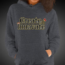 Load image into Gallery viewer, Max La Vida Women's Create Innovate Motivational Hoodies