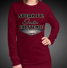 Load image into Gallery viewer, Max La Vida Women's Speak It Into Existence Long Sleeves