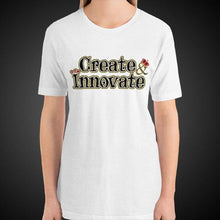 Load image into Gallery viewer, Max La Vida Women's Create Innovate Motivational Tee Shirt