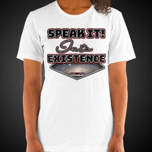 Load image into Gallery viewer, Max La Vida Women's Speak It Into Existence Motivational Tee Shirt