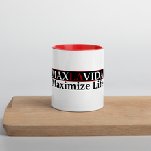 Load image into Gallery viewer, Max La Vida MaxLaVida Maximize Life Multi-Color Coffee Mugs