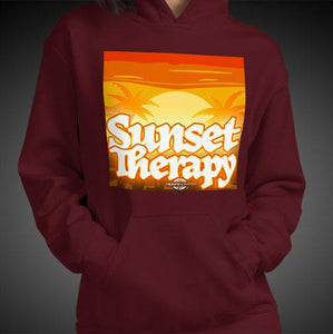 Sunset Therapy Hoodie Girls Authentic Quality Hoodies Women Hoods - Travell Well