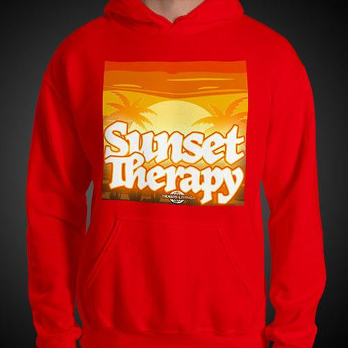 Sunset Therapy Hoodie Mens Authentic Quality Hoodies Men Hoods - Travell Well