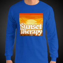 Load image into Gallery viewer, Sunset Therapy Travis Living Tee Men's Long Sleeve Shirt Authentic Quality Men's Shirts