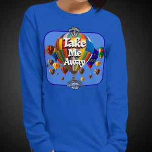 Take Me Away Travis Living Tee Girls Long Sleeve Shirt Authentic Quality Womens Shirts