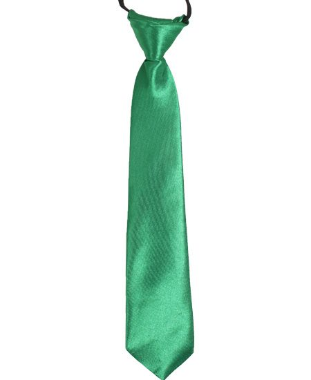 Jr Ties Boys Green Tie Kids Young Teen Boy Mid-Size Dress Ties