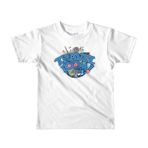 Travis Living Shirt Boys Travel Tee Travel Boom T-Shirt Boy Tees