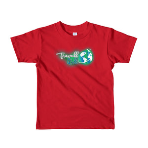Travis Living Shirt Girls Travell Well Logo T-Shirt Girl Tees