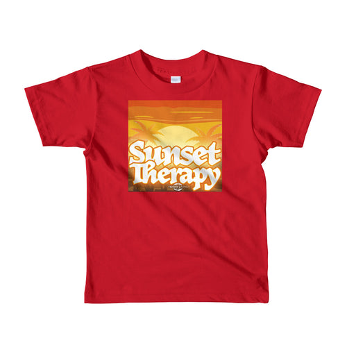 Travis Living Shirt Girls Travel Sunset Therapy T-Shirt Girl Tees