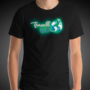 Travell Well Logo Travel Shirt Mens Travis Living Travel T-Shirt Men Tees