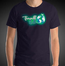 Load image into Gallery viewer, Travell Well Logo Travel Shirt Mens Travis Living Travel T-Shirt Men Tees