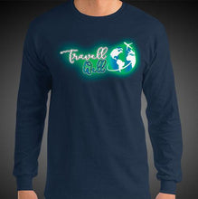 Load image into Gallery viewer, Travell Well Logo Travis Living Tee Men's Long Sleeve Shirt Authentic Quality Men's Shirts