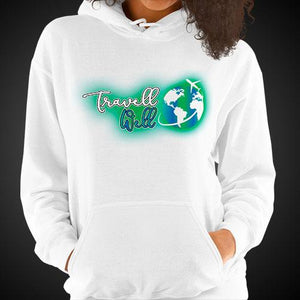 Travell Well Logo Travis Living Hoodie Girls Authentic Quality Hoodies Women Hoods