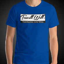 Load image into Gallery viewer, Travell Well Travel Shirt Mens World Travel T-Shirt Men Tees