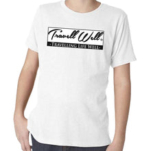 Load image into Gallery viewer, Travis Living Shirt Boys Travel Travell Well T-Shirt Boy Tees