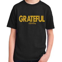 Load image into Gallery viewer, Travis Living Shirt Boys Grateful Boy Youth Tee Jr T-Shirts