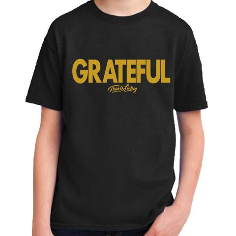 Travis Living Shirt Boys Grateful Boy Youth Tee Jr T-Shirts