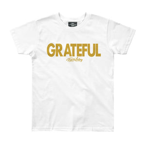 Travis Living Shirt Girls Grateful Girl Youth Tee Jr T-Shirts Various Colors