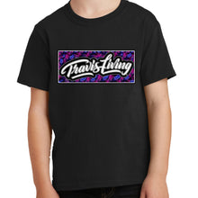 Load image into Gallery viewer, Travis Living Shirt Beach Boys Palm Tree Youth Tees Boy Jr T-Shirts