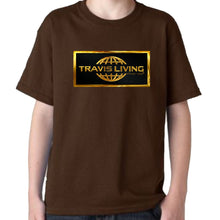 Load image into Gallery viewer, Travis Living Boys Tee Gold Collection Shirt Traveling is Living Boy T-Shirts