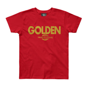 Travis Living Girls Golden Shirt Be Golden Girl Tee Shirts Various Color