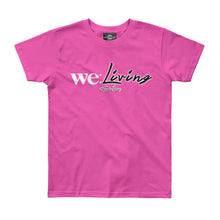 Load image into Gallery viewer, Travis Living Shirts Girls We Living Youth Girl Tee Jr T-Shirts