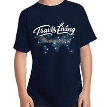 Load image into Gallery viewer, Travis Living Shirt Boys Travel World Map T-Shirt Boy Tees