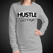 Load image into Gallery viewer, Travis Living Long Sleeve Shirt Womens Hustle Living T-Shirts Girls Tees