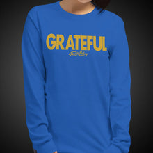 Load image into Gallery viewer, Travis Living Long Sleeve Shirts Womens Grateful T-Shirts Girl Tees