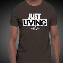 Load image into Gallery viewer, Travis Living Shirt Mens Just Living T-Shirt Men Tees