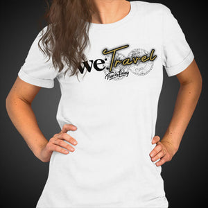 Travis Living Shirt Women's We Travel T-Shirt Girl Tees