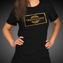 Load image into Gallery viewer, Travis Living Shirt Women's Gold Collection T-Shirt Girl Tees