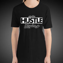 Load image into Gallery viewer, Travis Living Shirt Womens Hustle Living T-Shirt Girl Tees
