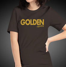 Load image into Gallery viewer, Travis Living Shirt Womens Golden T-Shirt Girls Tees