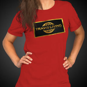 Travis Living Shirt Women's Gold Collection T-Shirt Girl Tees