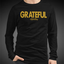 Load image into Gallery viewer, Travis Living Long Sleeve Shirt Mens Grateful T-Shirt Men Tees