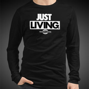 Travis Living Long Sleeve Shirt Mens Just Living T-Shirt Men Tees