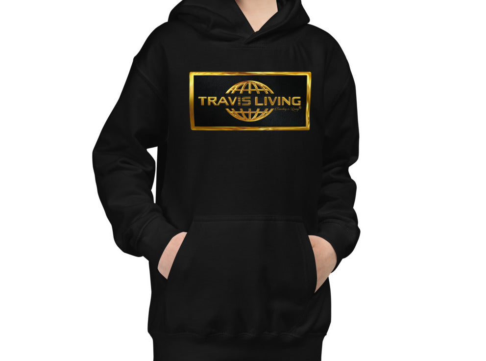 Travis Living Gold Collection Hoodie Youth Boys Hoody Boy Hoods Juniors