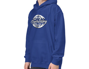 Travis Living Hoodie Travel World Platinum Globe Youth Boys Hoody Boy Hoods