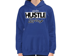 Travis Living Girls Hoodie Hustle Living Girl Hustler Hoods Youth Hoody