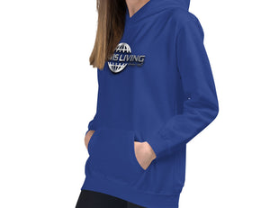 Travis Living Girl Hoodies World Travel 3D Globe Girls Hoodie Youth Hoody