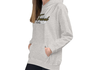 Travis Living Girl Hoodie We Travel Girls World Travel Hoods S-XL Hoodies Hoody