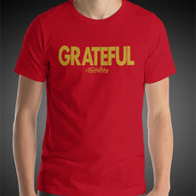 Load image into Gallery viewer, Travis Living Shirt Mens Grateful T-Shirt Men Tees