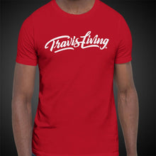Load image into Gallery viewer, Travis Living Shirt Mens Traveling Is Living T-Shirt Men Tees