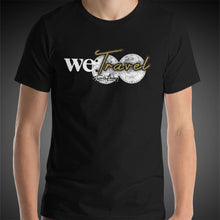 Load image into Gallery viewer, Travis Living Shirt Mens We Travel World Globe T-Shirt Men Tees
