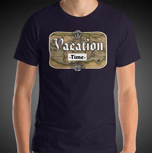 Load image into Gallery viewer, Vacation Time Travel Shirt Mens Travis Living Travel T-Shirt Men Tees