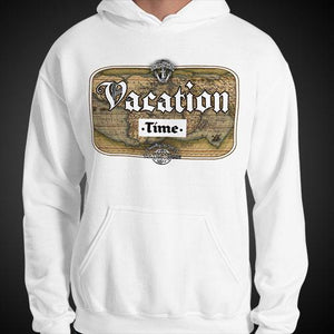 Vacation Time Travel Hoodie Mens Authentic Quality Hoodies Men Hoods - Travell Well