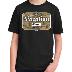 Travis Living Shirt Boys Travel Vacation Time T-Shirt Boy Tees